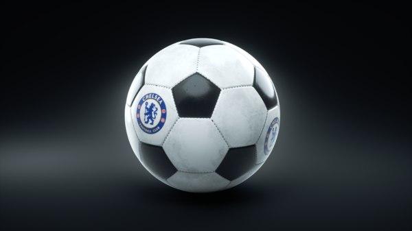 soccer ball football 3D model