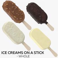 3D ice creams stick -