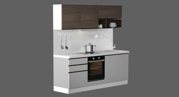 kitchen design 2100 3D model