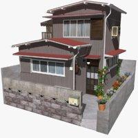 3D model townhouse