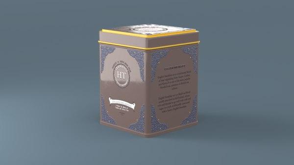 3D tea box