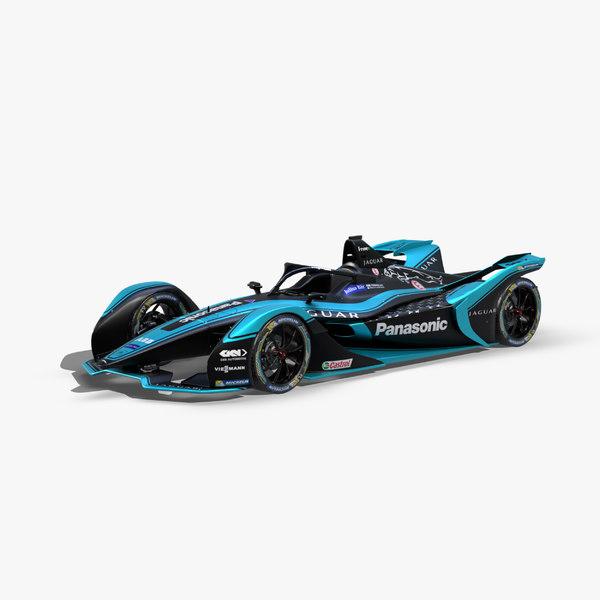 2020 e formula 3D model