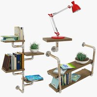 Loft Furniture and Accessories Collection V4