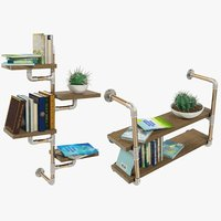 loft furniture accessories shelf model