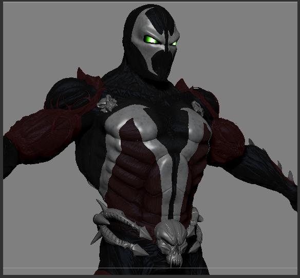 spawn human zombie 3D model