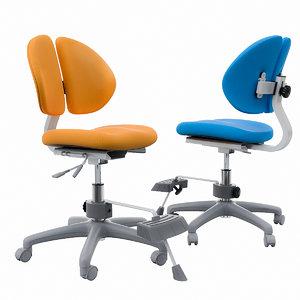 3D model orthopedic chair