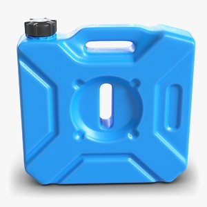 plastic jerry contains 3D model