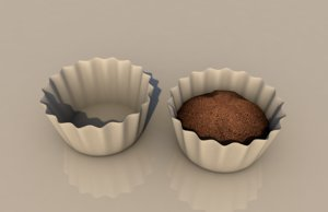 3D coffee filter model