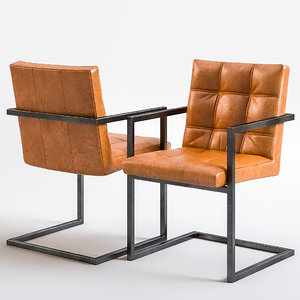 pmp furniture leathers 3D model
