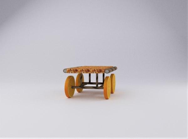 chocolate stick cart model
