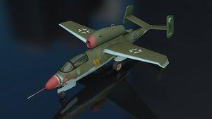 3D model 162 a2 salamander aircraft