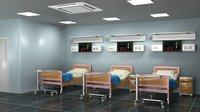 hospital ward 2 3D model