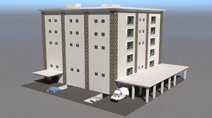 3D model hospital