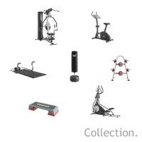 freestanding everlast gymnastics speedo 3D model