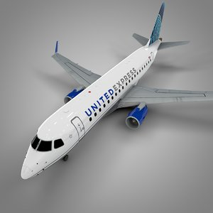 united express embraer175 l535 model