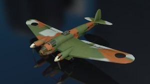 heinkel 111 h aircraft 3D model