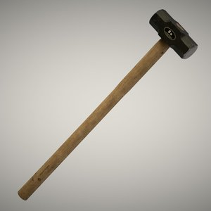 3D ready sledge hammer