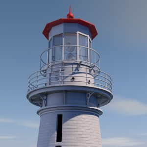 3D lighthouse structure