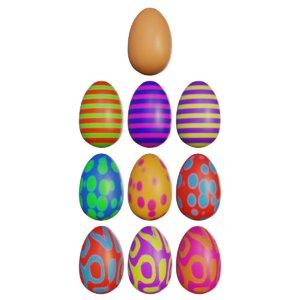 easteregg varietys egg 3D model