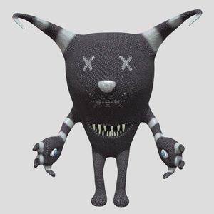 3D fantasy toy model