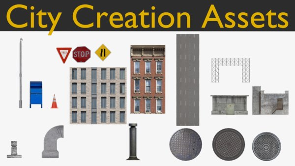 assets city model