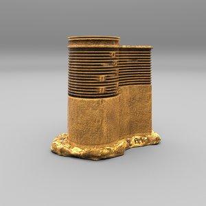 3D model souvenir tower