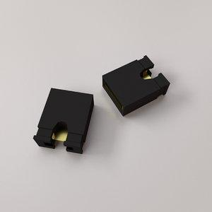 jumper connector 3D model