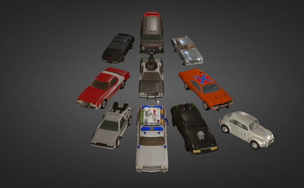 complete popculture pack 10 3D model
