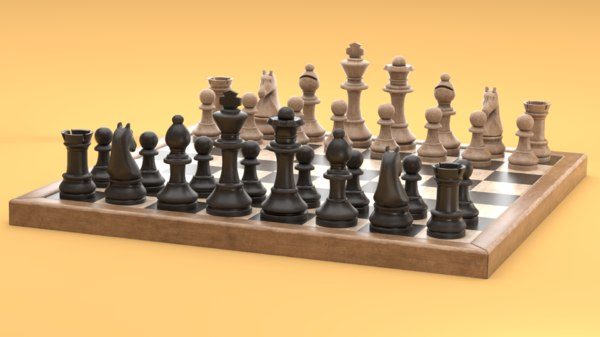 common chess 3D model