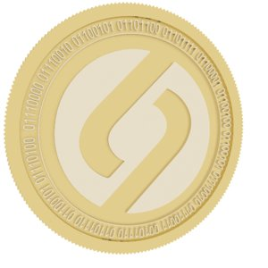 3D colu local network gold coin