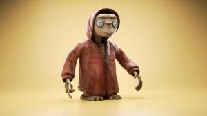 3D et extraterrestrial toy model
