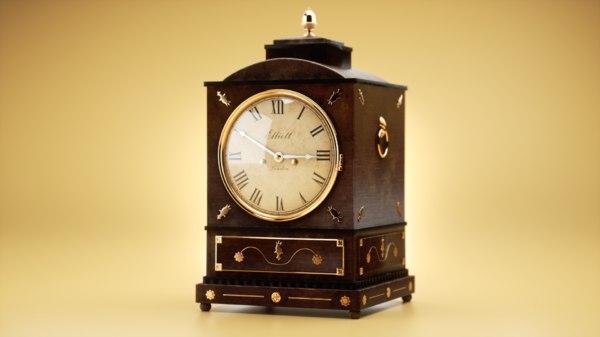 old clock model