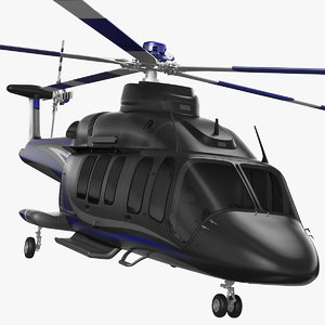 civil helicopter generic copters model