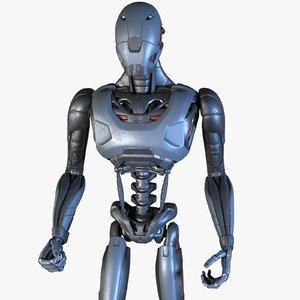 robot modeled 3D