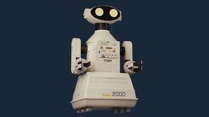 omnibot 2000 3D model