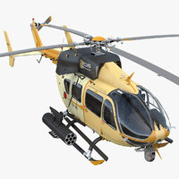 3D armed aerial scout 72x