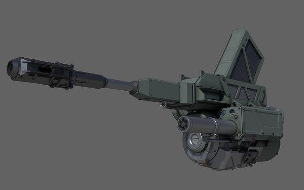 3D weapon mech