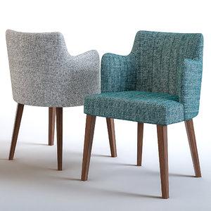 ottostelle furniture restaurants 3D