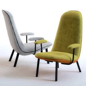leafo chair arflex 3D