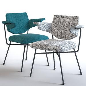 neptunia chair 3D model