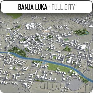 banja luka surrounding - model