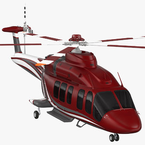bell 525 relentless corporate 3D model