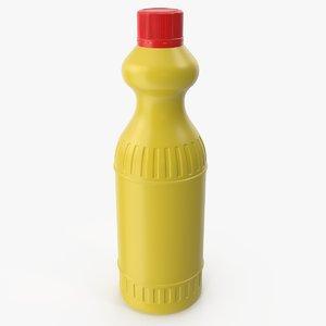 detergent bottle 5 3D model