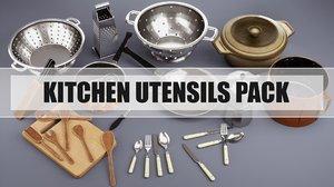 kitchen utensils pack model