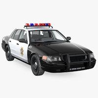 Las Vegas Police Car Rigged