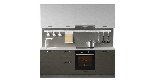 3D model kitchen design 2250