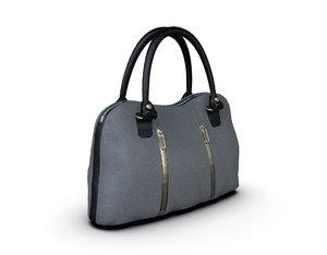 bag woman leather model