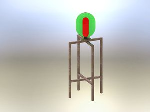 architecture lamp model