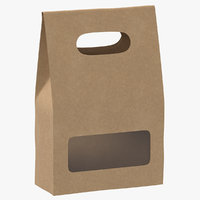 3D recycled paper bags 02
