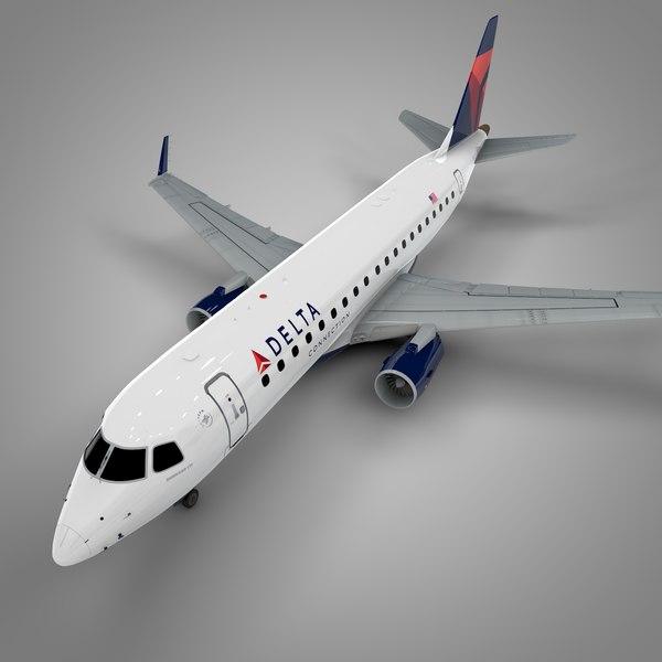 delta connection embraer175 l521 model